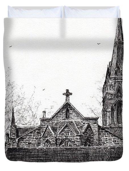 Glenmuick Church Duvet Cover