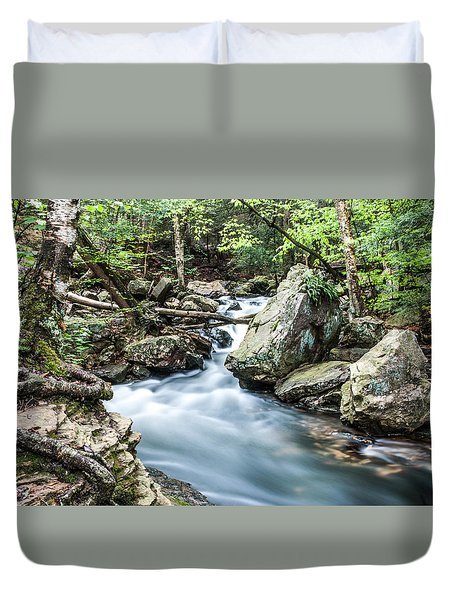 Glenn Stream 8607 Duvet Cover by G L Sarti