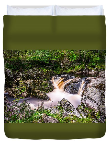 Glentrool Rivers And Falls Duvet Cover