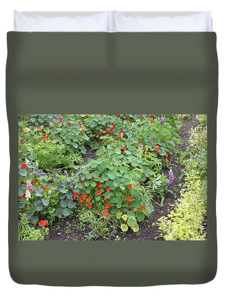 Glenveagh Castle Gardens 4278 Duvet Cover