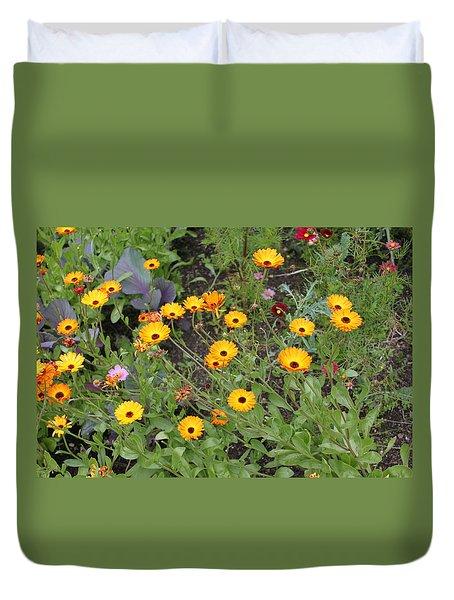 Glenveagh Castle Gardens 4279 Duvet Cover