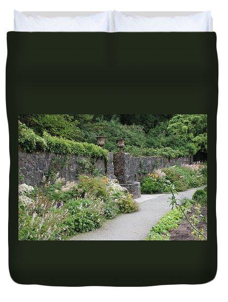Glenveagh Castle Gardens 4288 Duvet Cover