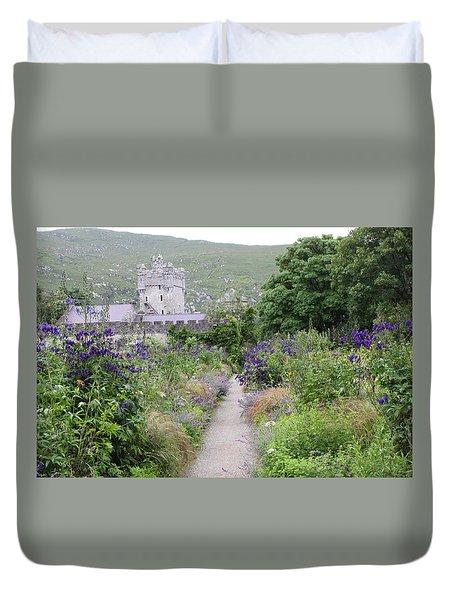 Glenveagh Castle Gardens 4292 Duvet Cover