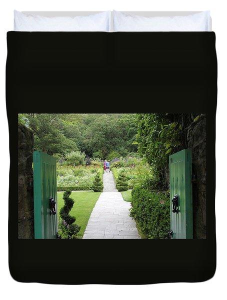 Glenveagh Castle Gardens 4272 Duvet Cover