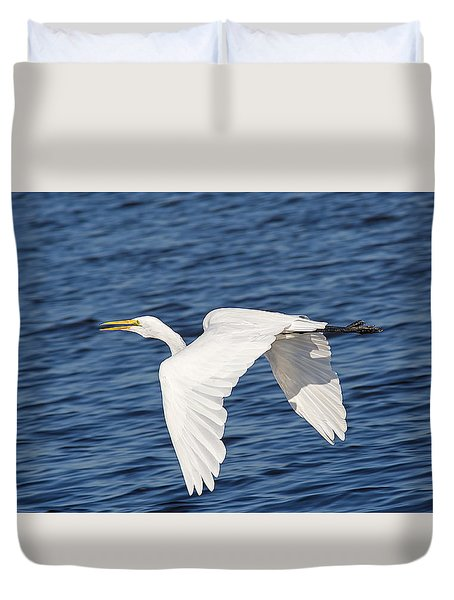 Glide Duvet Cover by Kenneth Albin