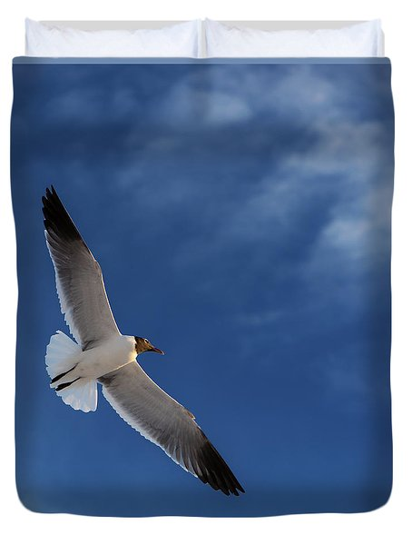 Glider Duvet Cover by Don Spenner