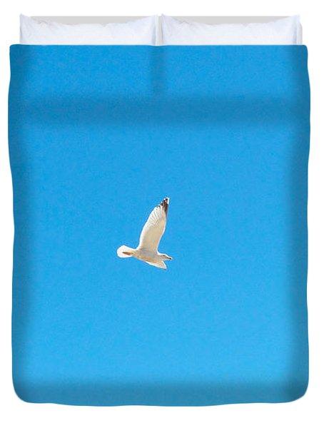 Gliding Seagull Duvet Cover