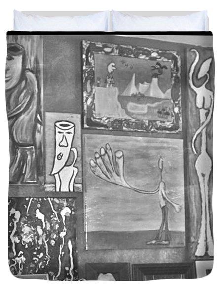 Glimpses Of Where Art Lives 4 Duvet Cover