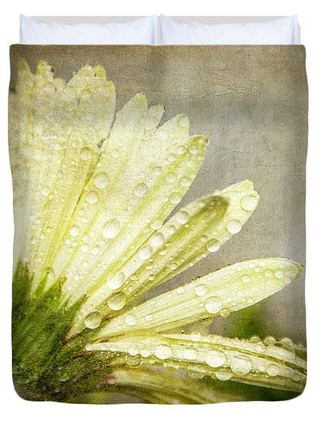 Glistening After The Rain Duvet Cover