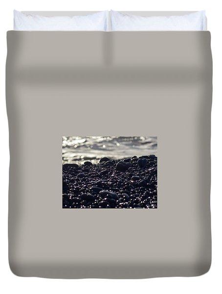 Glistening Rocks Duvet Cover