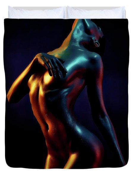 Glistening Sensuality Duvet Cover