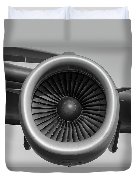 Global Power - 2017 Christopher Buff, Www.aviationbuff.com Duvet Cover