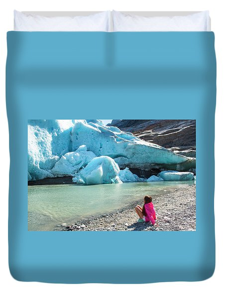 Global Warming Duvet Cover by Tamara Sushko