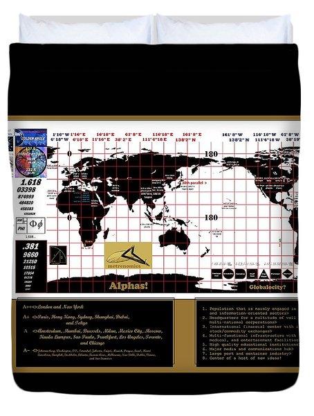 Globalocity Duvet Cover