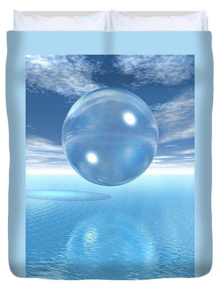 Globe Duvet Cover