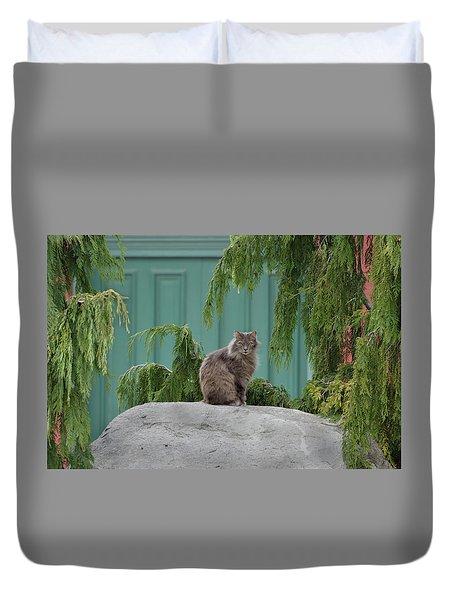 Glorious Cat Duvet Cover