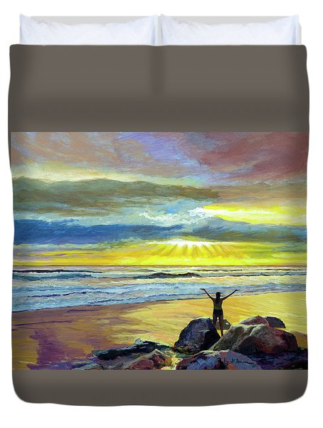 Glorious Day Duvet Cover