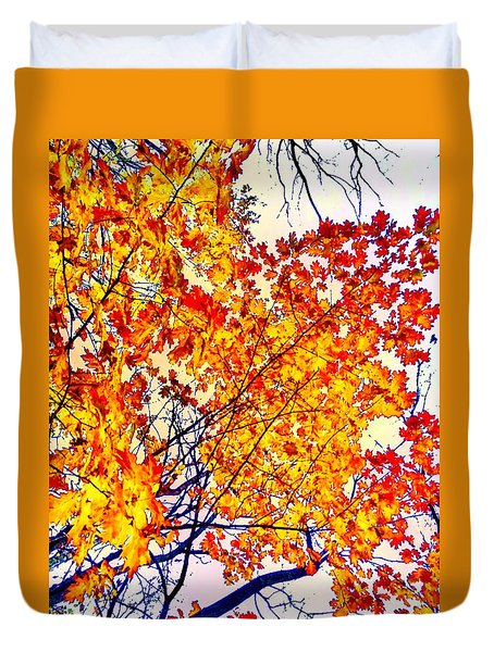 Glorious Foliage Duvet Cover