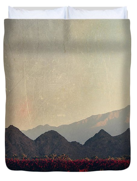 Glorious Light Duvet Cover by Laurie Search