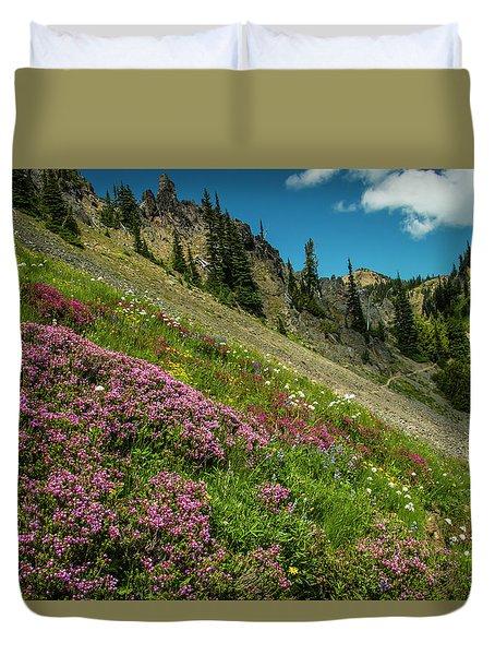 Glorious Mountain Heather Duvet Cover