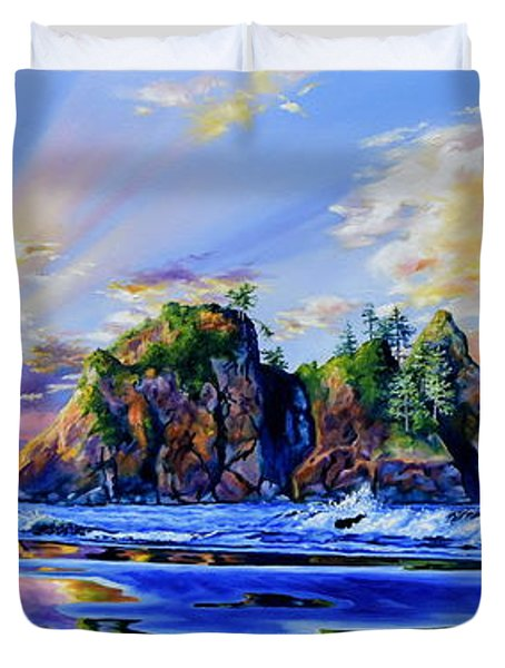 Glorious Point Of The Arches Duvet Cover