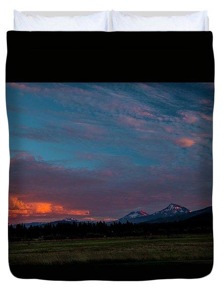 Glorious Sunset Duvet Cover