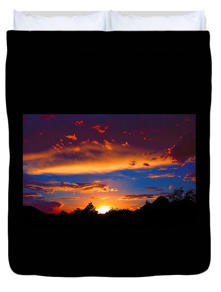 Glorious Sunset Duvet Cover