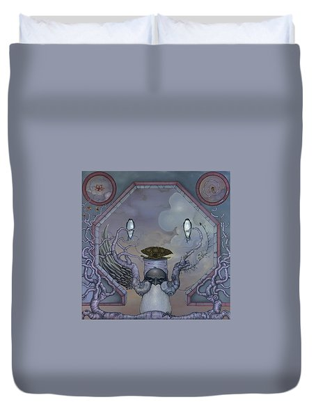 Glory Duvet Cover by Andrew Batcheller