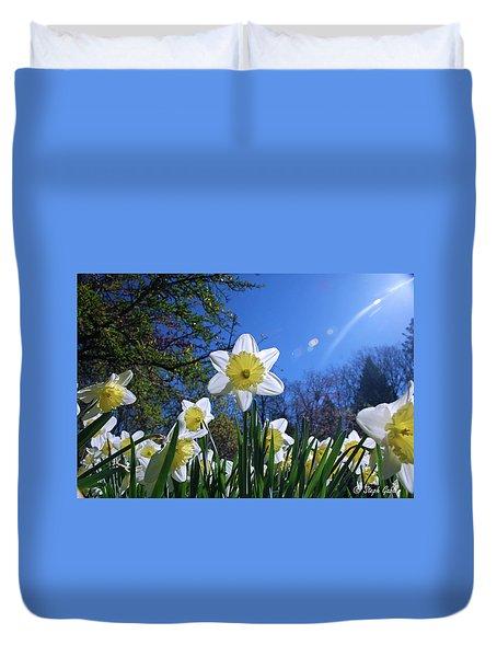 Glory Of Spring Duvet Cover