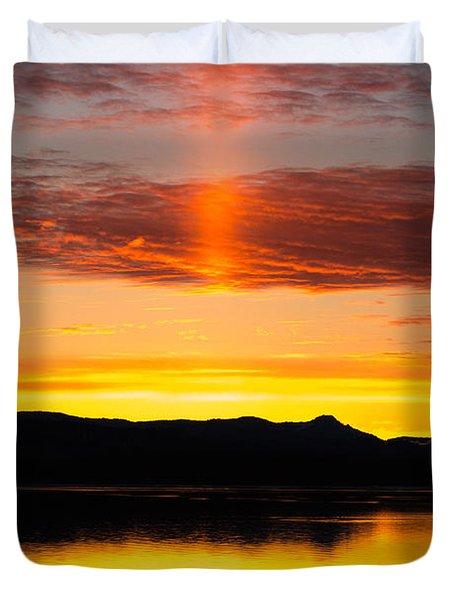 Glory Pillar Duvet Cover