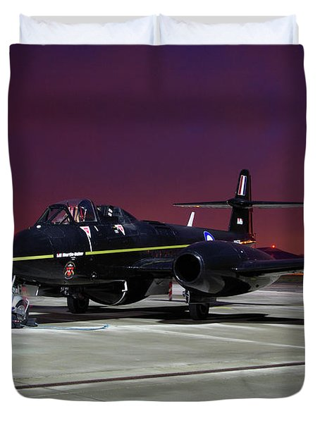 Gloster Meteor T7 Duvet Cover by Tim Beach