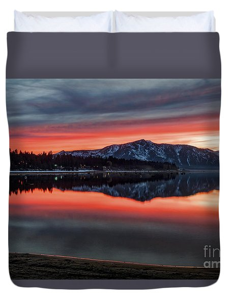 Glow Duvet Cover by Mitch Shindelbower