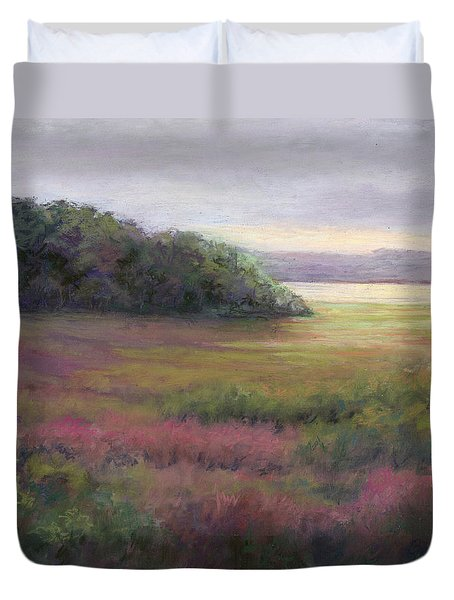 Glow On Gilsland Farm Duvet Cover