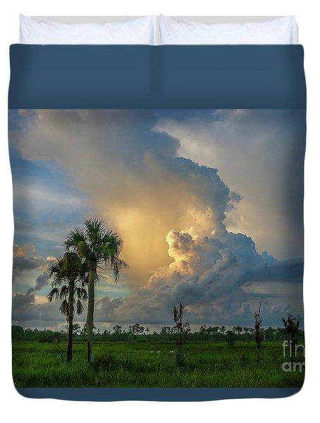 Glowing Cloud Sunrise Duvet Cover