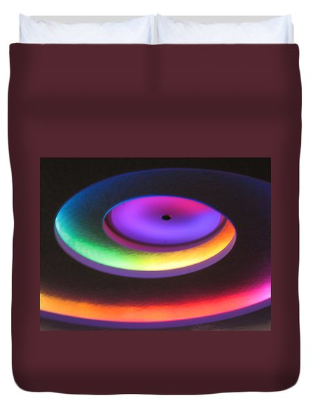 Glowing Lights Duvet Cover