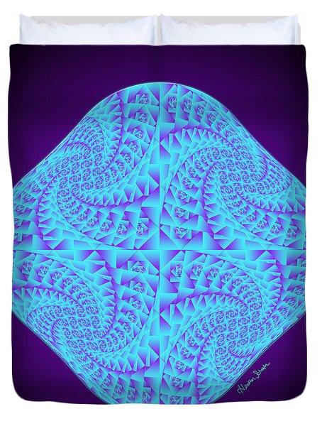 Glowing Moon Diamond Duvet Cover
