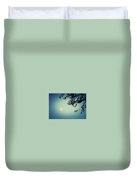 Glowing Moon  Duvet Cover