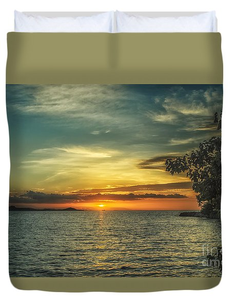 Glowing Sky Duvet Cover