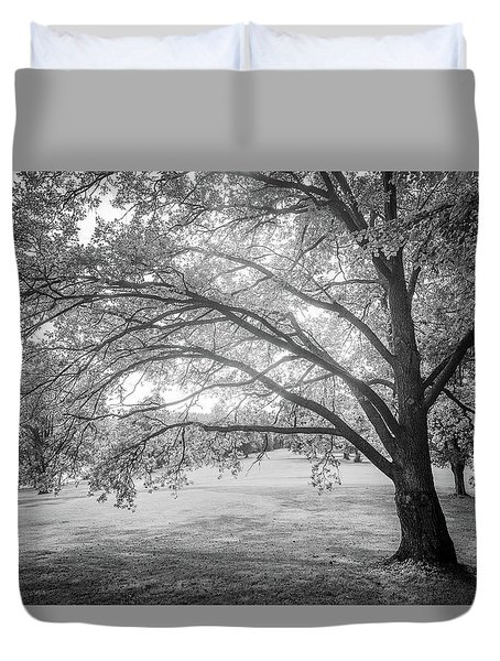Glowing Tree Duvet Cover