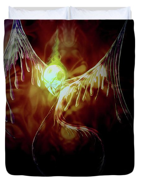 Glowingpixie Duvet Cover