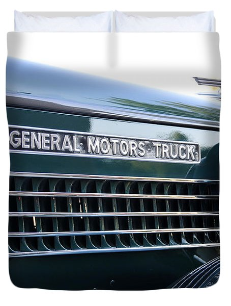 Gmc Hood Duvet Cover by David Lee Thompson