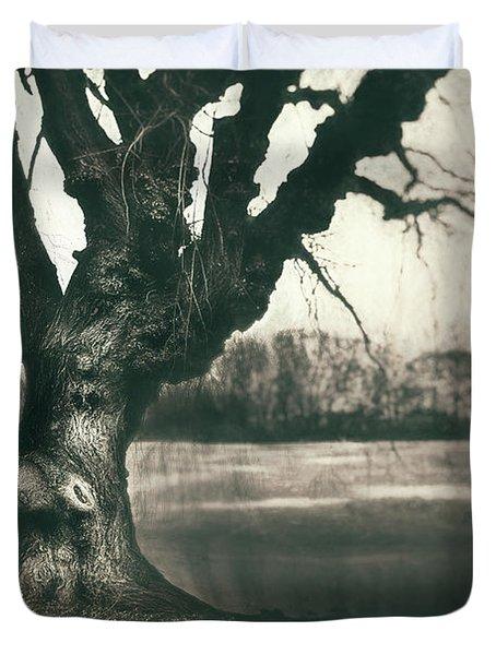 Gnarled Old Tree Duvet Cover