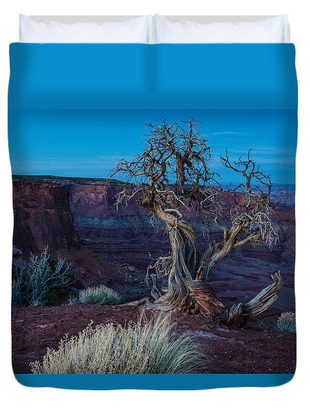 Gnarled Duvet Cover by Paul Noble
