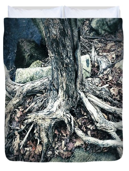 Gnarled Rooted Beauty Duvet Cover