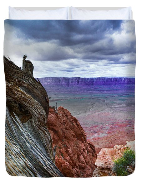 Gnarly Desert Duvet Cover