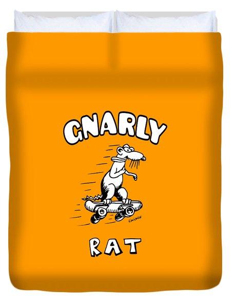 Gnarly Rat Duvet Cover