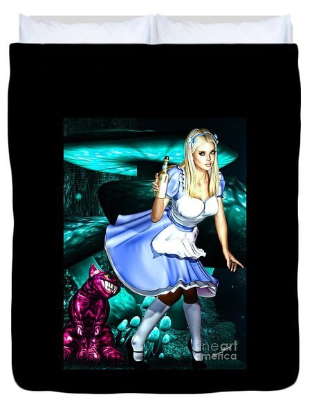 Go Ask Alice Duvet Cover