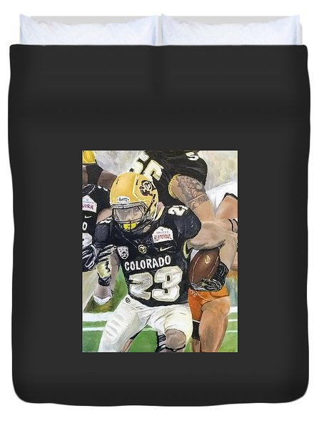 Go Buffs Duvet Cover
