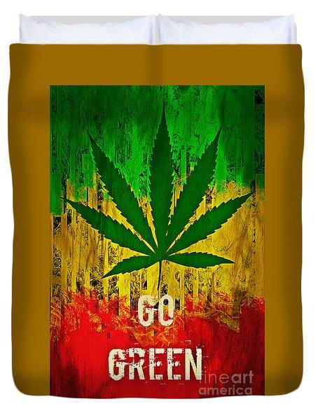 Go Green Duvet Cover