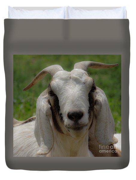 Goat 1 Duvet Cover